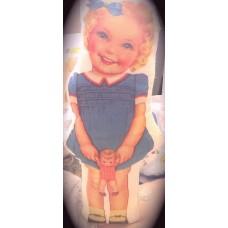 Vintage Girl Doll 30cm