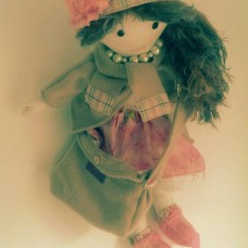 Rag Doll with bag and second outfit